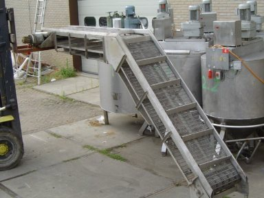 Transport Conveyor 4,40 mtr Transport conveyors