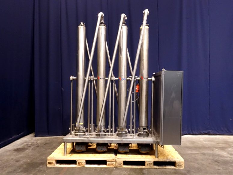 APV SSHE 4VT680 Scrape heat exchangers