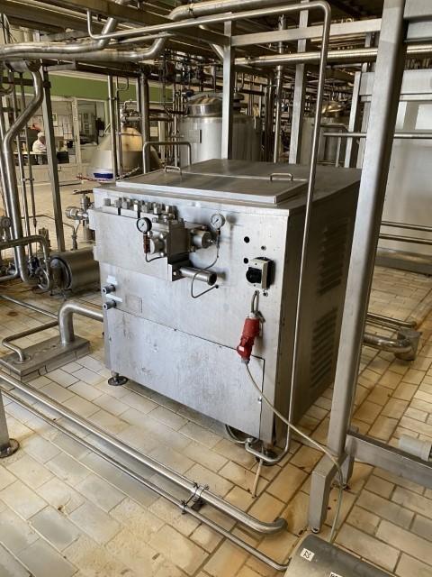 Alfa Laval SHL25 High pressure homogenisers