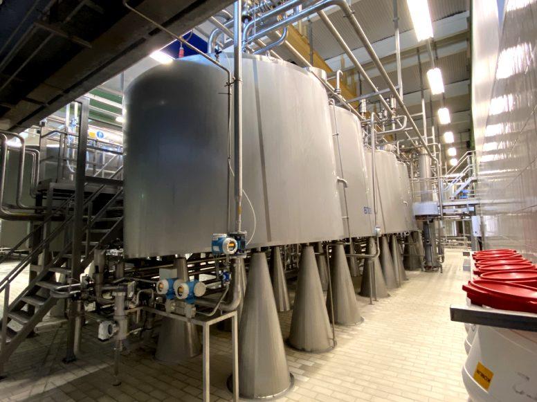 APV Curdmaster Cheese equipment