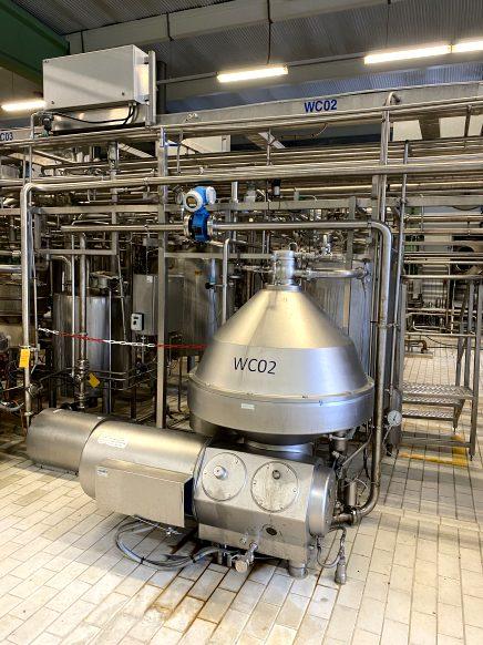 Alfa Laval WMPRX618-hgv-74C Cream separators