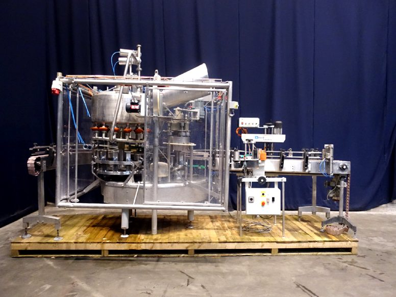Fogg Gemaca 144LH Bottle filling machines
