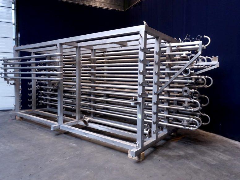 Alfa Laval 1x17VL01x38/63-6.0-304/316L-CH Tubular heat exchangers