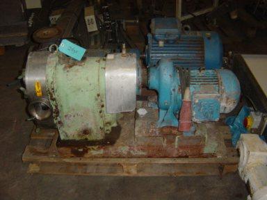 Waukesha 200 Lobe rotary pumps