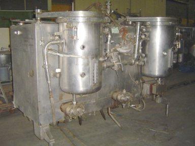 Kustner SSW 1000-78 Sterichoc Processed cheese equipment