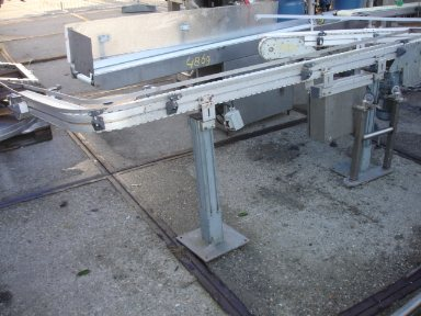 Transport Conveyor 2,40 mtr. with bend Transportband