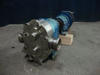 Waukesha 125 Lobe rotary pumps