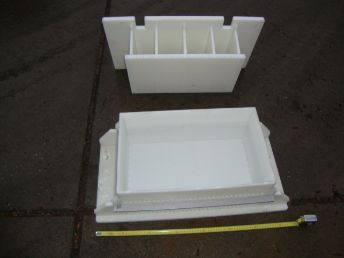 Laude  Cheese moulds