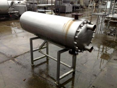 - Tubular heat exchangers not sanitary