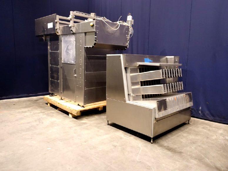 Becherzuführung Cup filling machines