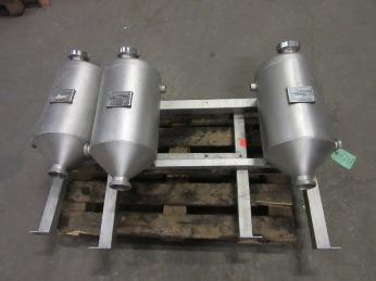 Miromatic Vorlaufbehalter Balance tanks / hoppers